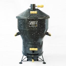 Churrasqueira a bafo Apolo 8 , incluso kit gás e rodinhas