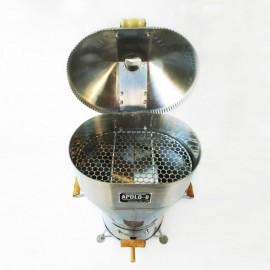 Churrasqueira a bafo Apolo 8 inox , incluso kit gás e rodinhas