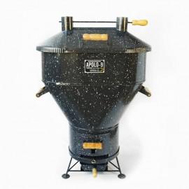 Churrasqueira a bafo Apolo 9 , incluso kit gás e rodinhas