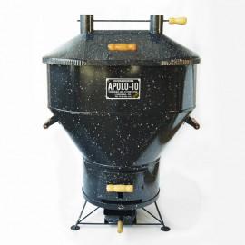 Churrasqueira a bafo Apolo 10, incluso kit gás e rodinhas