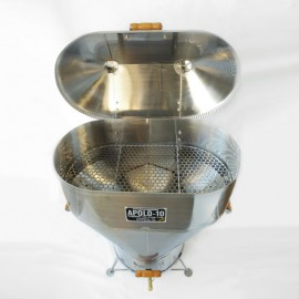 Churrasqueira a bafo Apolo 10 inox , incluso kit gás e rodinhas