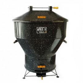 Churrasqueira a bafo Apolo 11, incluso kit gás e rodinhas