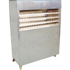 Churrasqueira (Gás) acabamento em inox, rotativa para assar 60 espetinhos