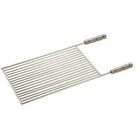 Grelha parada 50 x 46 cm (cabo em alumínio) para grill inox especial ou normal