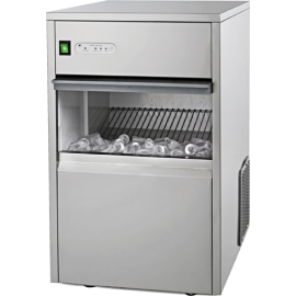 Máquina automática para fabricação de gelo cristal (25 kg/dia)
