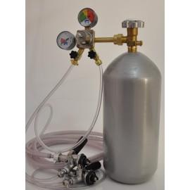 Kit gás para torre chopeira com 2 torneiras