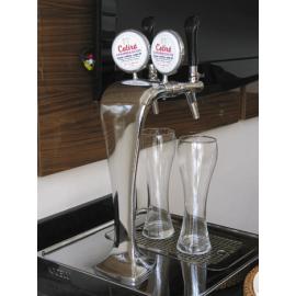 015) Chopeira modelo Naja (Italiana) suada com 2 torneiras com gela copos. Completa e Instalada em São Paulo - Capital