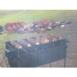 Locação churrasqueira PROFISSIONAL PARA CARNES EM PEÇAS sob encomenda