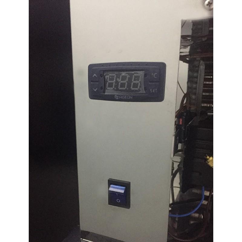 Único equipamento no mercado com: Chave liga desliga e controle digital de temperatura frontais